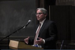 William A. Jacobson Cornell Law School speaking at Vassar College