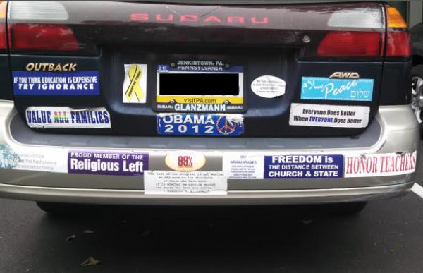 Bumper Stickers - Philadelphia - Freedom