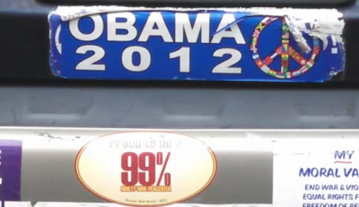 Bumper Stickers - Philadelphia - Obama 2012