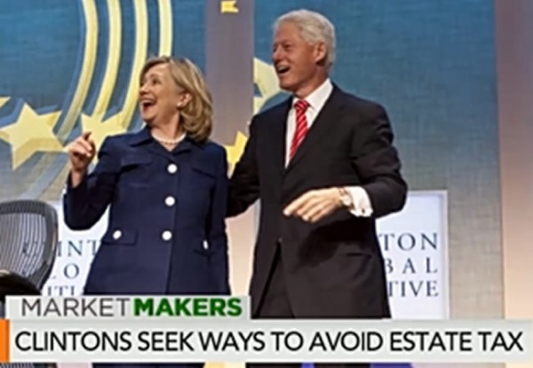 Clintons Estate Tax