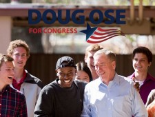 Doug Ose for Congress Website Banner