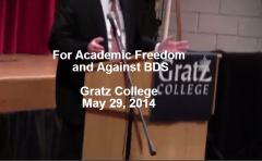 Gratz College - For Academic Freedom and Against BDS