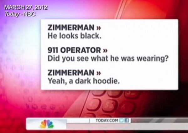 NBC Zimmerman Edit Screenshot