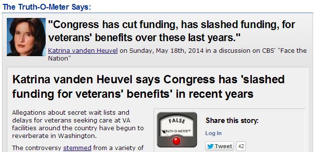http://www.politifact.com/punditfact/statements/2014/may/21/katrina-vanden-heuvel/katrina-vanden-heuvel-says-congress-has-slashed-fu/