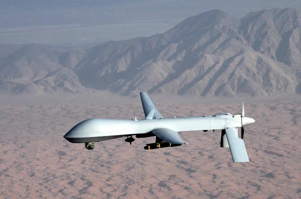 http://en.wikipedia.org/wiki/General_Atomics_MQ-1_Predator#mediaviewer/File:MQ-1_Predator_unmanned_aircraft.jpg