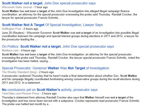 Scott Walker Google Search 6-26-2014 325 pm EST