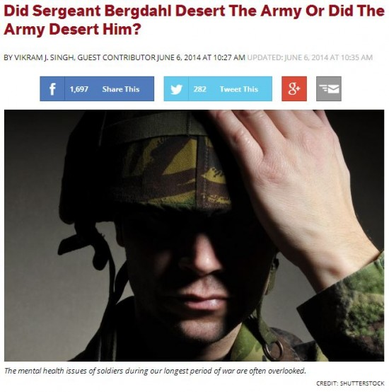 Think Progress Army Deserted Bergdahl