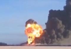Train Oil Explosion
