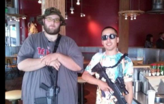 Extremist open carry advocates frighten public, turn opinion against gun owners.