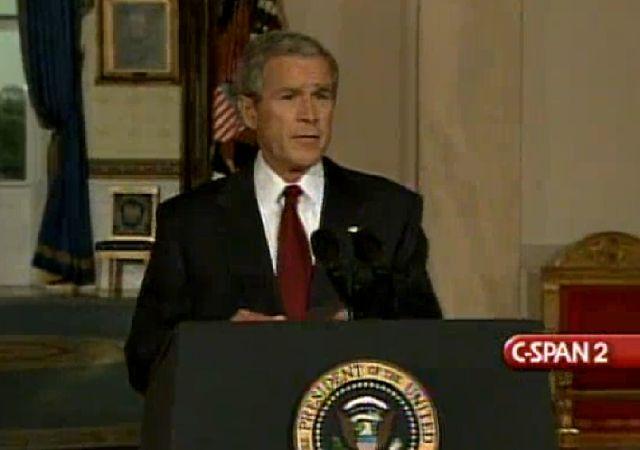 bushs speech before the war on iraq