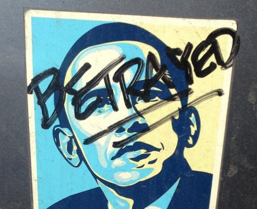 Bumper Sticker - Oakland - Betrayed
