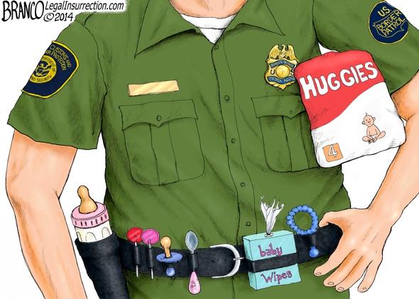 Border Patrol Babysitters