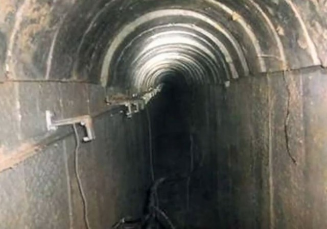 Hamas Gaza Tunnel NYT video