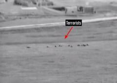 Hamas terrorists emerge from tunnel near Kibbutz 7-17-2014