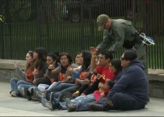 Illegal immigrants protest white house july 2014