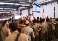 Israeli soldiers sing Who Believes Gaza