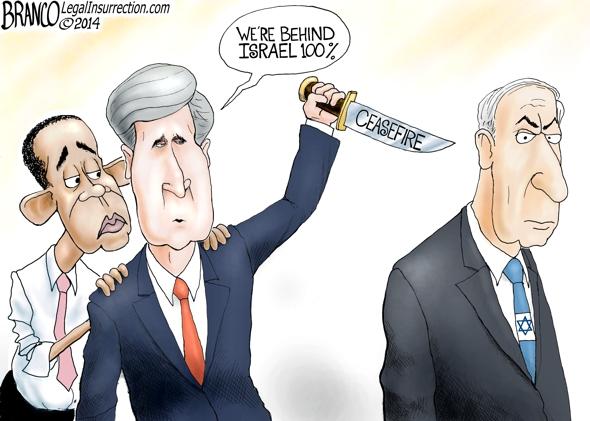 John Kerry Ceasefire in Israel