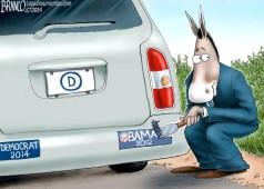Democrats Snub Obama