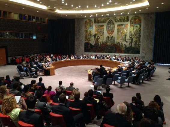 Security Council Emergency Meeting Gaza