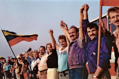 Baltic Way Human Chain Protest 1989