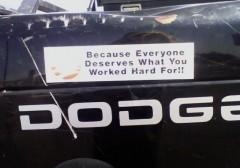 Bumper Sticker - Roswell - Work Hard