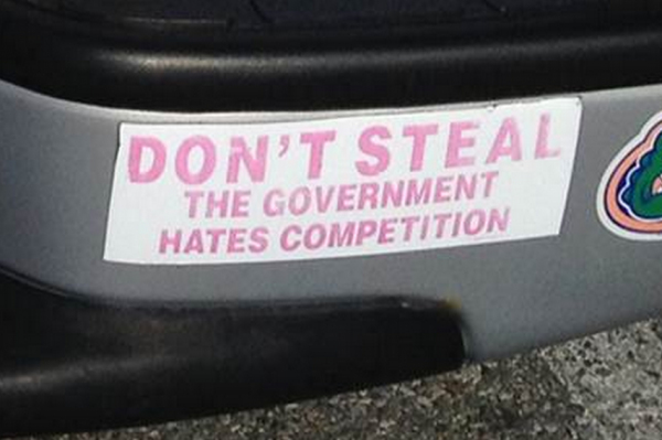 Bumper Stickers - Riverside RI - Dont Steal