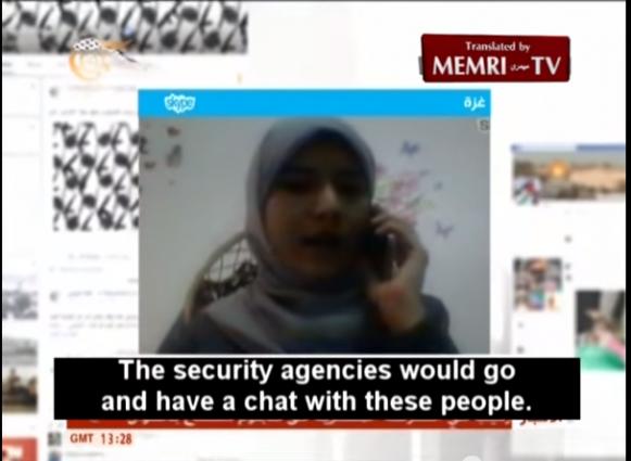 Hamas Spokeswoman Intimidate Reporters Gaza