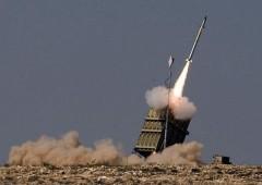 Iron Dome Firing IDF