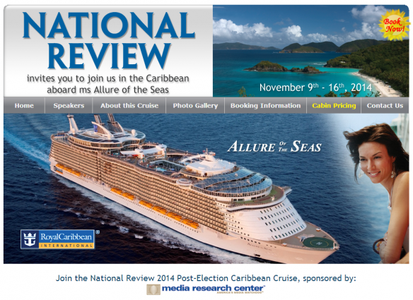 National Review 2014 fall cruise banner