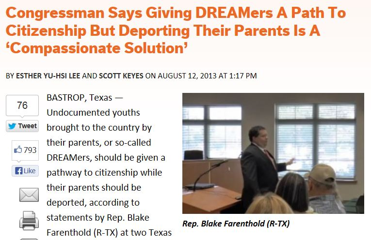 Think Progress Deport Parents