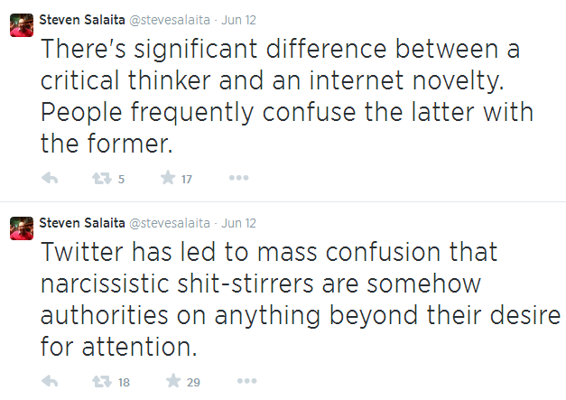 Twitter - @Stevesalaita - Internet novelties