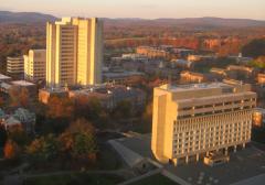 U. Mass. Amherst campus overview