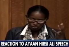 Ayaan Hirsi Ali at Yale
