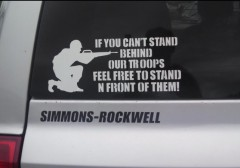 Bumper Sticker - Ithaca - If You Can't Support Troops