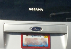Bumper Sticker - Northern Illinois - Nobama