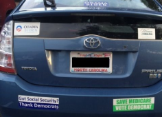 Bumper Stickers - North Carolina - Obama Democrats