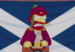 Groundskeeper Willie Scottish Independence