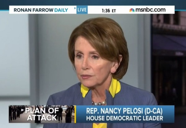 Nancy Pelosi ISIS