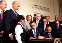 Obamacare signed into law