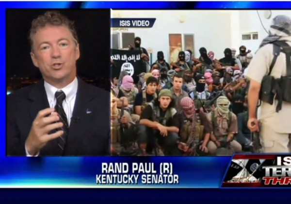 http://foxnewsinsider.com/2014/09/03/rand-paul-isis-has-without-question-declared-war-against-us