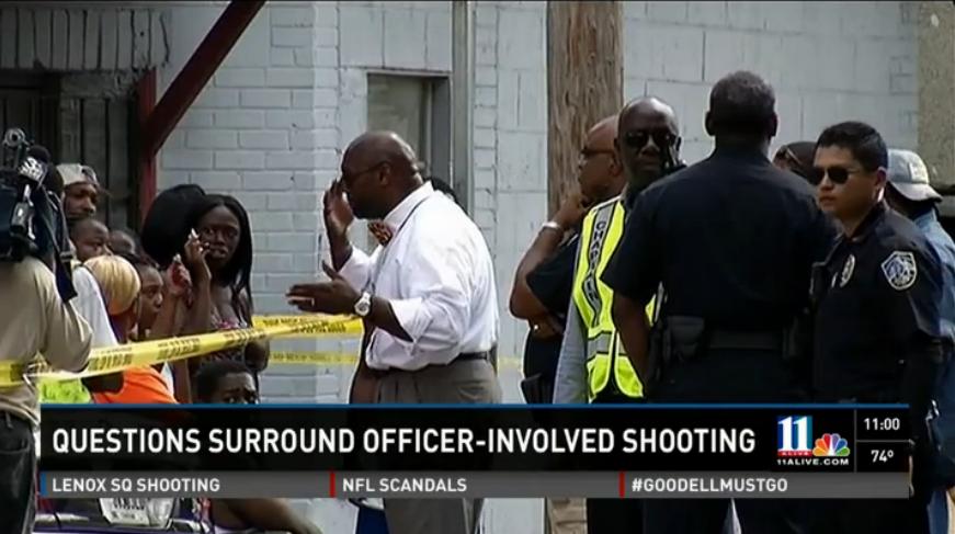 Police shooting | Charles Smith | Handcuffed | Georgia
