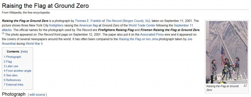Wikipedia Three Fireman Raising Flat page 9-15-2013