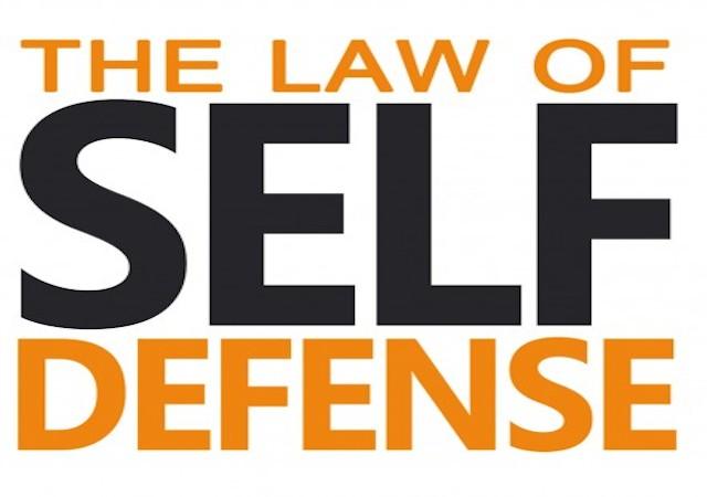the law of self defense pdf