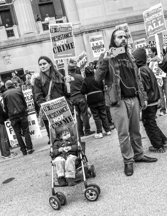(Bassem Masri at Ferguson Protest, via Tumblr)