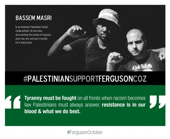 Bassem Masri Ferguson Resistance is in our blood