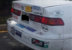 Bumper Stickers - Silver Spring MD - Israel Obama.PNG