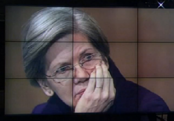 Elizabeth Warren Glenn Beck Jeopardy Screen