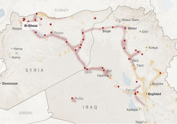 ISIS control northern iraq