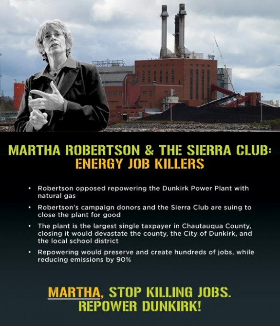 Martha Robertson Dunkirk Power Plant