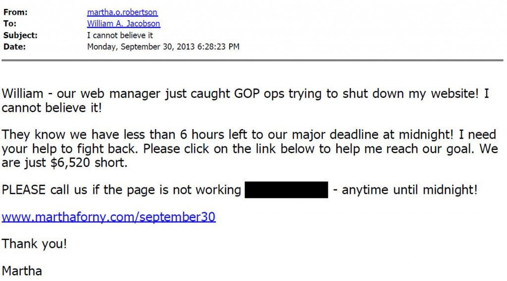 Martha Robertson Email - I cannot believe it_Redacted